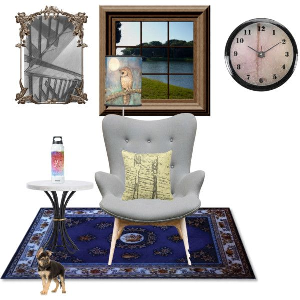 A small room by ziernor on Polyvore featuring interior, interiors, interior design, home, home decor and interior decorating