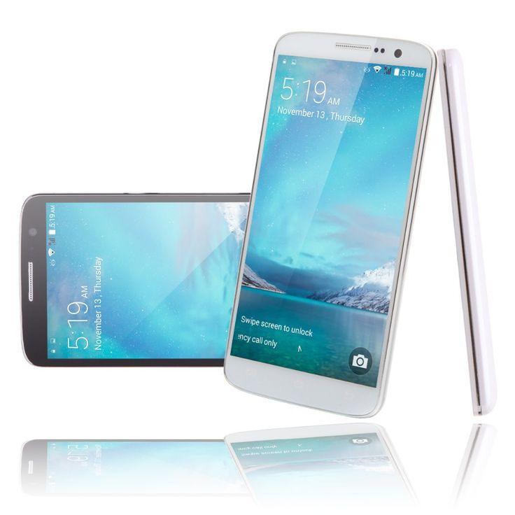"IRULU U2 Smartphone 5.0"" Quad Core Android 4.4 Cell Phone MTK6582 8GB Dual SIM QHD LCD 13MP CAM Heart Rate Light Sensor New 2015"