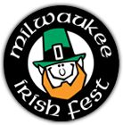 Milwaukee Irish Fest is held annually on the third weekend in August on the shores of Lake Michigan at the Henry W Maier Festival Park.  http://irishfest.com/Irishfest.htm