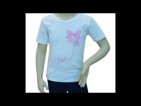 Κοριτσίστικες φανέλες με μανίκι