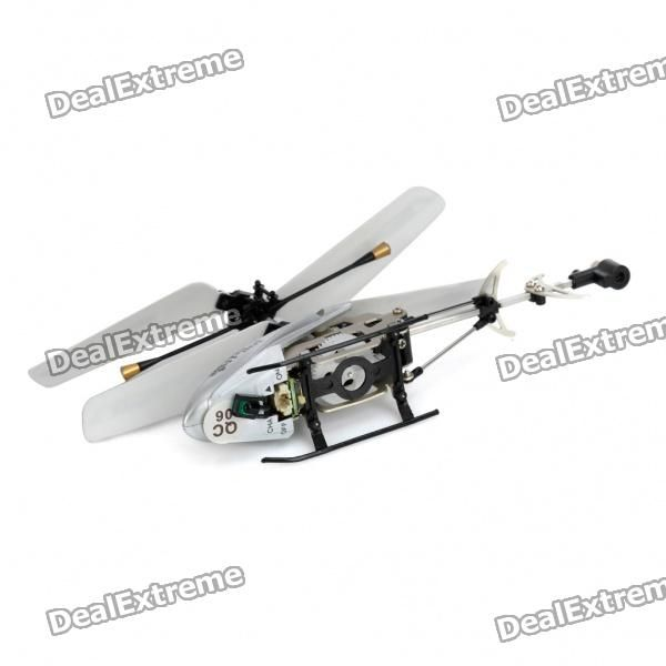 6025i Iphone/Ipod Touch/Ipad Controlled R/C i-Helicopter 3.5-CH w/ Gyroscope - White - Free Shipping - DealExtreme