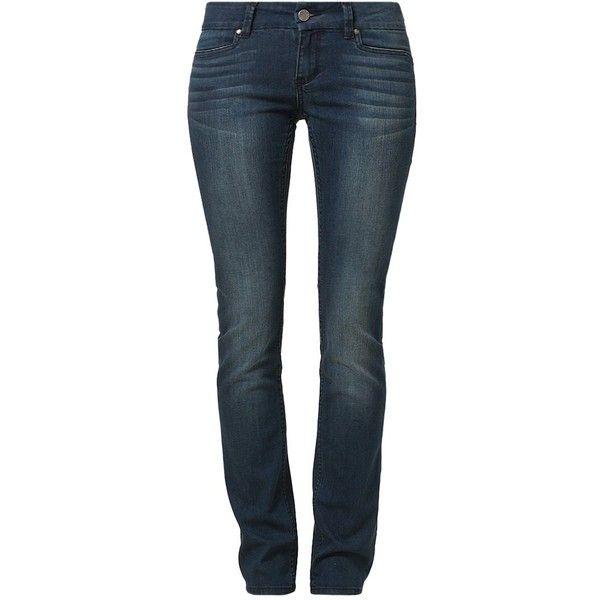 William Rast SAVOY Straight leg jeans hampton ($29) ❤ liked on Polyvore featuring jeans, dark blue, william rast jeans, blue jeans, dark blue jeans, straight leg jeans and william rast