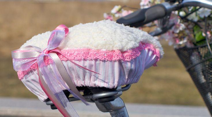 Pimpa din cykel - sy ett sadelskydd