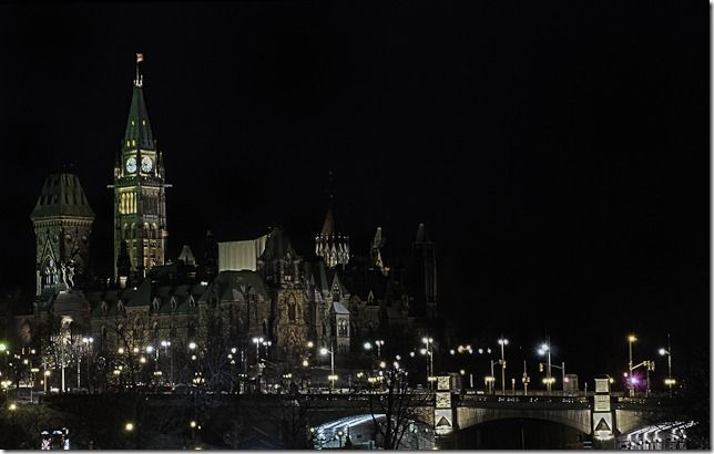 Parliament of Canada - Parliament Hill -- Ottawa, Canada
