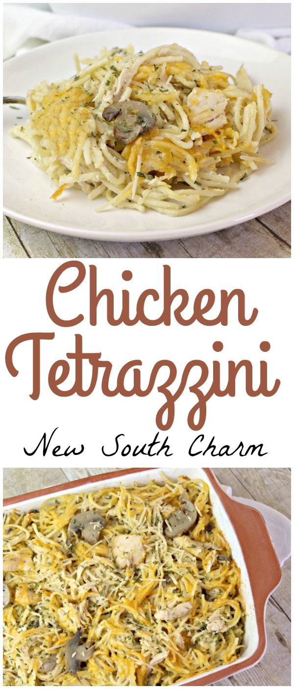 Chicken Tetrazzini is a classic recipe that great for dinner any night but is perfect for company too.