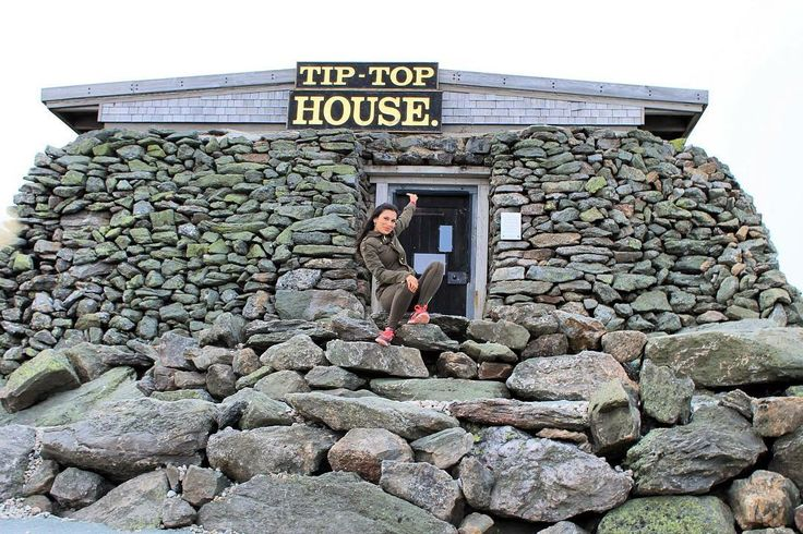 Tip Top House on top Mount Washington, New Hampshire  #highpoint #newhampshire