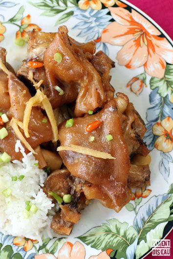 Les 25 meilleures id es de la cat gorie pied de porc sur pinterest recette pied de porc - Comment cuisiner des pieds de porc ...