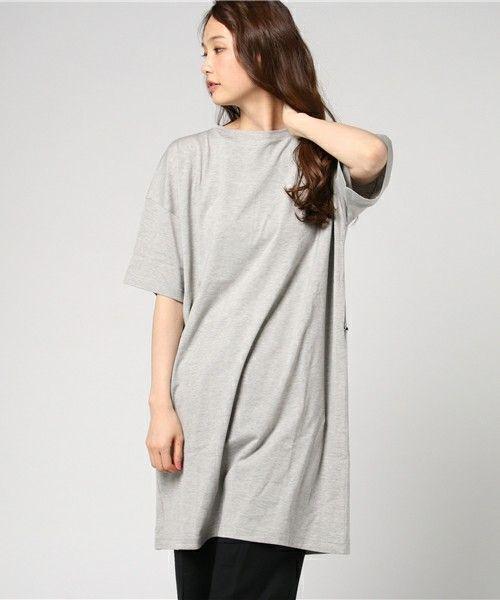 Traditional Weatherwear(トラディショナルウェザーウェア)の「BFロングT(Tシャツ/カットソー)」|トップグレー