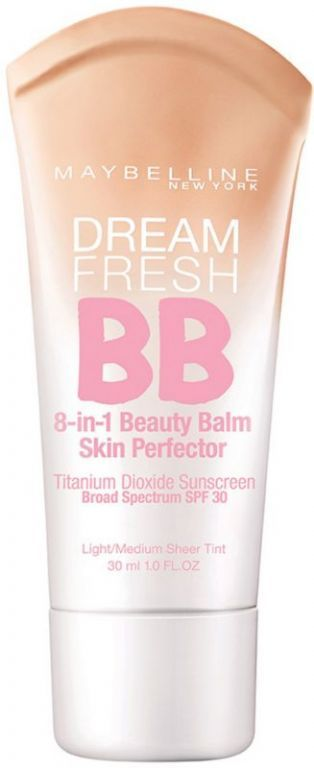 I love this stuff, perfect dupe for Stila BB Cream which costs about 5 times more!  Maybelline Dream Fresh 8-in-1 BB Cream love this alone as it has SPF or under makeup as a base!