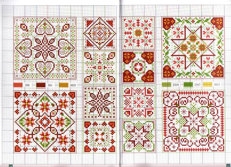 - Biscornu-  cross stitch chart