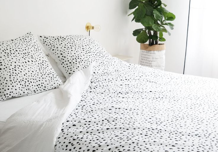 Dots duvet cover set - Crisp Sheets