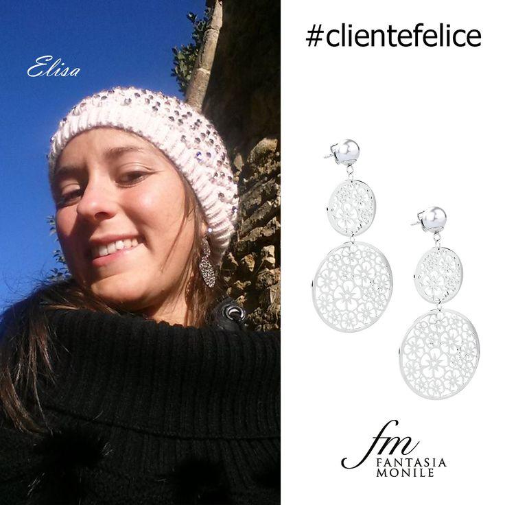 Elisa ha scelto gli orecchini Brosway collezione Mademoiselles