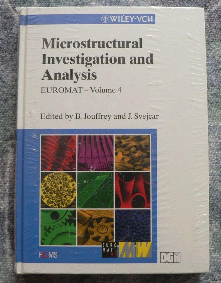 Buch,Microstructural Investigation and Analysis, Band 4 von J. Svejcar und B