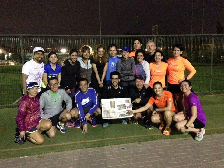 Terminamos el día con una excelente rutina de preparación física en el Stadio Italiano con el Grupo MajuPM Stadio Italiano en Santiago de Chile, Metropolitana de Santiago de Chile