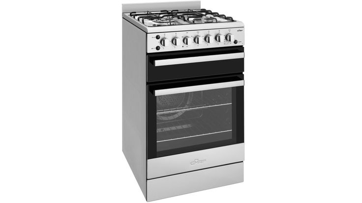 Chef 54cm Freestanding LPG Gas Cooker With Fan Oven