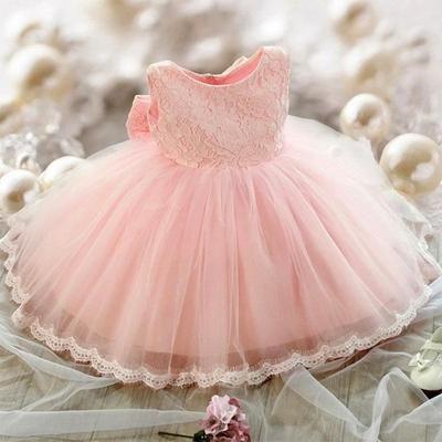 9379f4c3200a3 Robe de mariée de fille de fleur de tulle de filles pour tout-petit et bébé