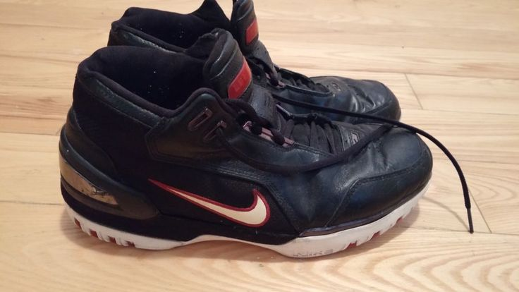 Nike Zoom Generation Lebron 1 Black Red Size 10 5 All Star Restore 2004 Original | eBay