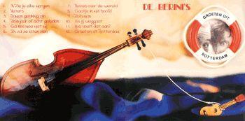 Ontwerp, vormgeving & fotografie CD boekje Berini's
