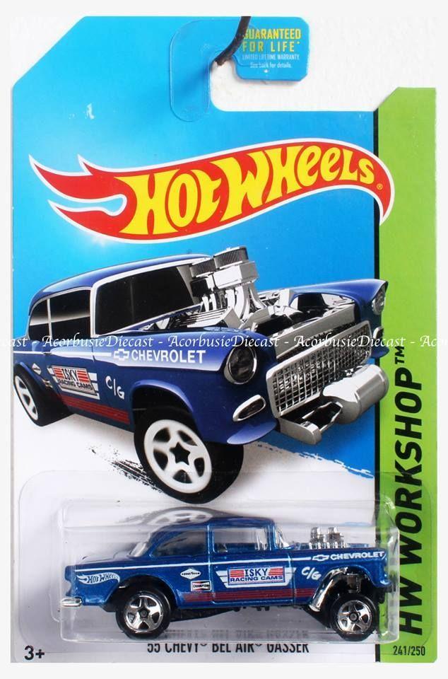 55 Chevy Bel Air Gasser Boatracinggame Hot Wheels Hot Wheels