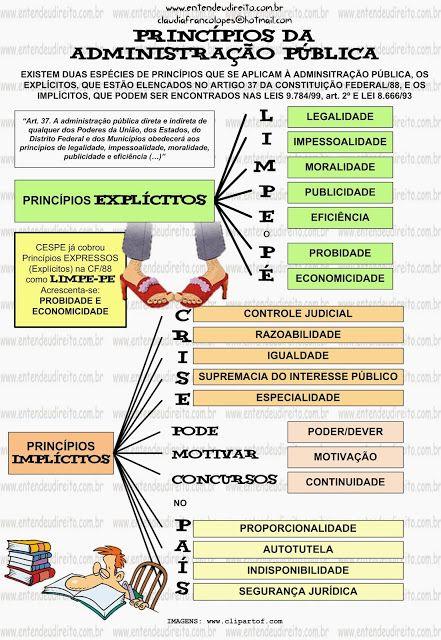 PRINCÍPIOS EXPLÍCITOS E IMPLÍCITOS DA ADMINISTRAÇÃO PÚBLICA