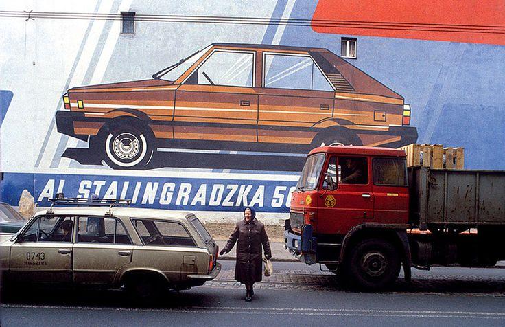 Aleja Stalingradzka w Warszawie fotograf Chris Niedenthal