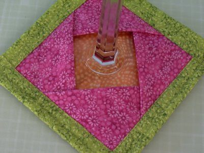 Different Variation Of Wine Glass Coaster Sewing