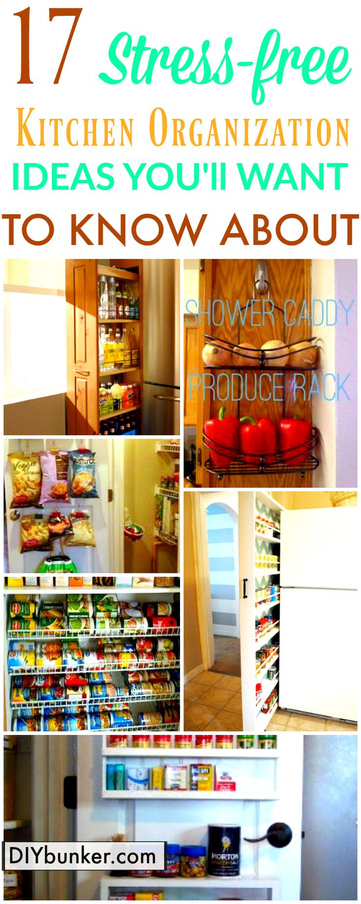 These 17 organization tips are SO USEFUL! I never thought to organize my kitchen cabinets this way. I love how easy and cheap it is to make your cabinets look so good!
