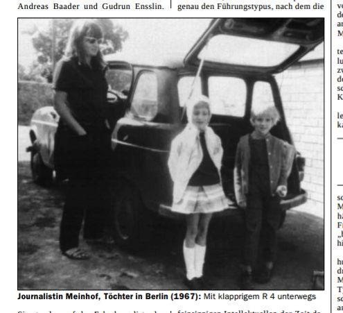 Jemina Staalon kirjaploki: Vallankumous on jo ovela. Katriina Lehto: Ulrike Meinhof