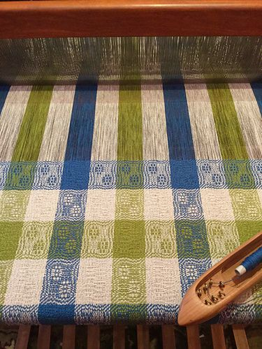 Ravelry: Thrumbelina's Cats Paws and Snail Trails Towels