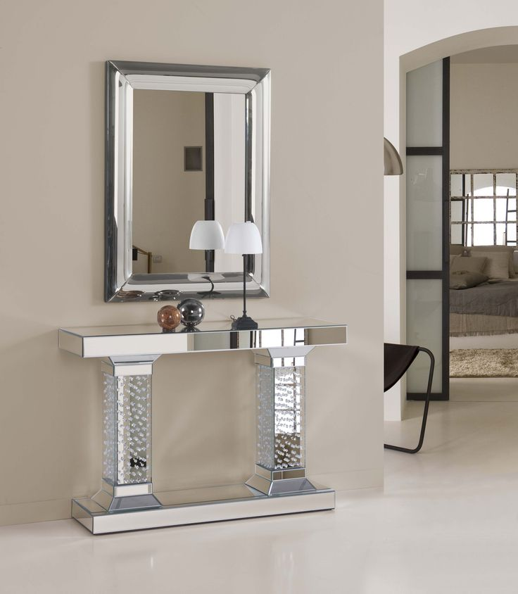 Consolas consolas de cristal - Espejos recibidores modernos ...