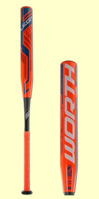 The 2016 Worth Legit 220 Resmondo MAXLOAD USSSA Slow Pitch Softball Bat: SBL22M hits like a dream and features a full one ounce end load. Buy one today with fast, free shipping at JustBats.com!