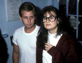 Emilio Estevez (le frère de Charlie Sheen, lui aussi acteur et réalisateur) et Demi Moore