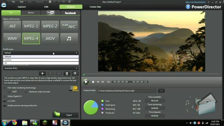 best rendering settings for Cyberlink PowerDirector 9 - highest quality ...