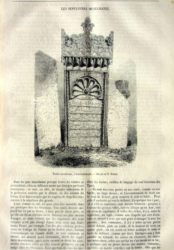 Rare strange antique Islamic tombs and graves by LyraNebulaPrints