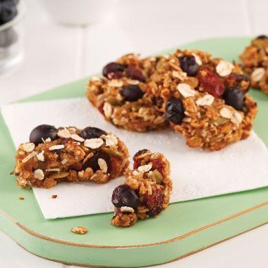 Biscuits au gruau sans sucre - Recettes - Cuisine et nutrition - Pratico Pratique