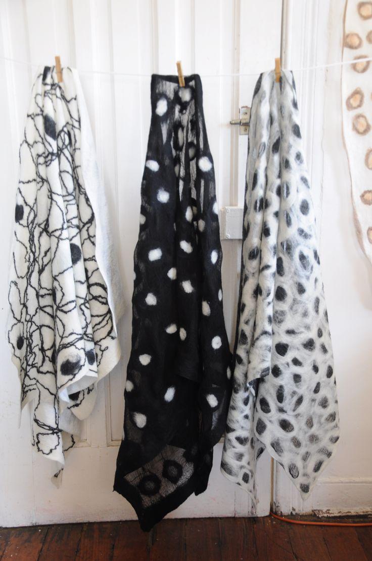 shawl felt merino