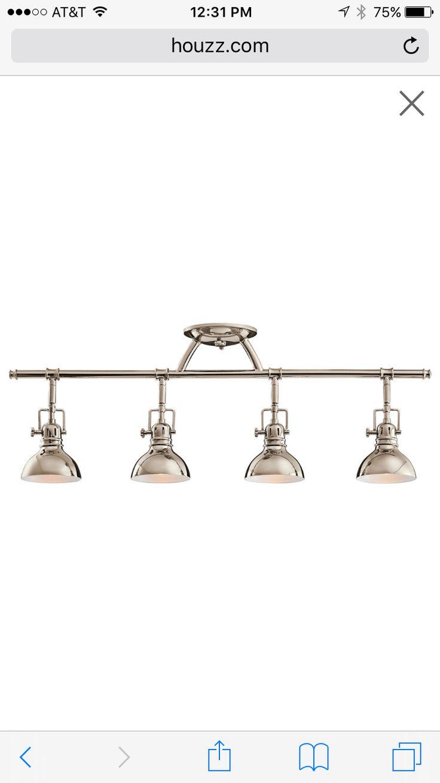 Kitchen track lighting  http://www.houzz.com/photos/35183418/Kichler-Lighting-Hatteras-Bay-4-Light-Halogen-Rail-Light-transitional-track-lighting-kits