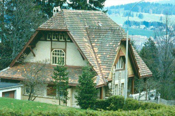 Вилла Фалле в Ла-Шо-де-Фон, Швейцария, 1905, Райт