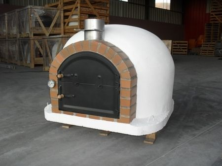 Houtoven, Pizza oven Bologna Basic 100 extra geïsoleerd