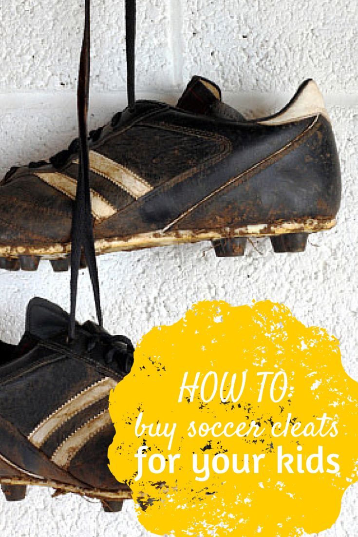 How To: Buying soccer cleats for your children. Three tips to help you get the best bang for your buck: https://www.youthletic.com/cincinnati-oh/articles/how-to-buy-soccer-cleats-for-your-kids?utm_source=Pinterest&utm_medium=Pin&utm_campaign=PinterestPin