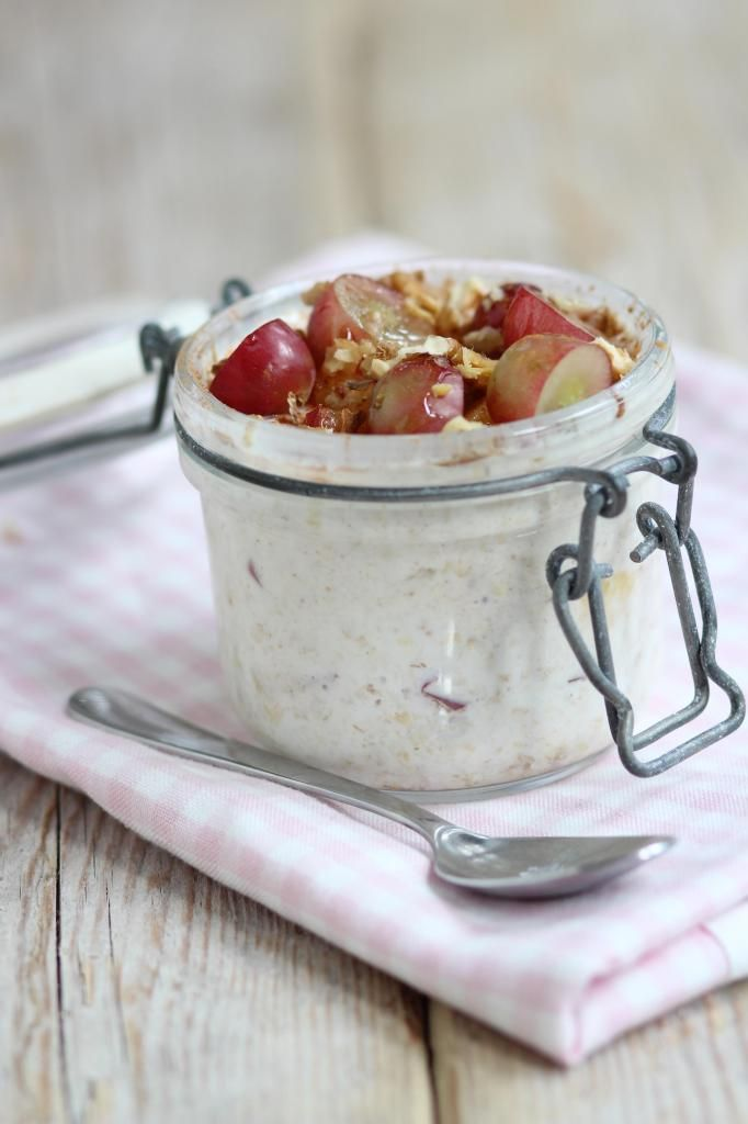 Ontbijttip: overnight oats - Lekker en Simpel