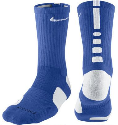 Nike Elite Basketball Crew Sock Medium Royal Blue