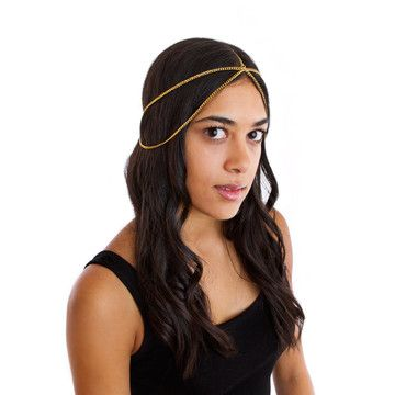Head Piece Gold now featured on Fab. because i honestly think i'm meant to wear a crown.