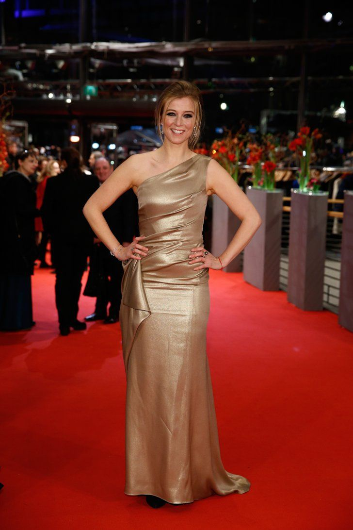 Pin for Later: Das war die 65. Berlinale - seht hier die besten Bilder! Tag 1 Nina Eichinger