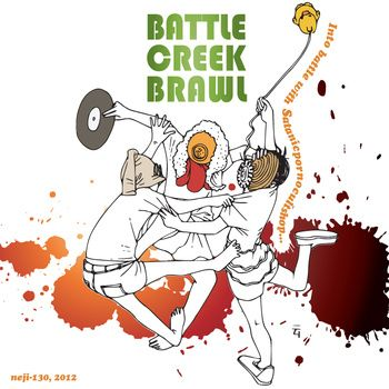 Battle Creek Brawl (neji-130), by Satanicpornocultshop