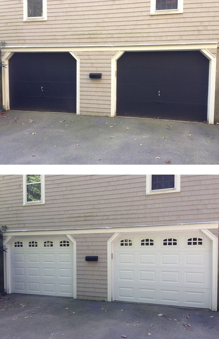 25 best Before and After images on Pinterest | Carriage doors ...