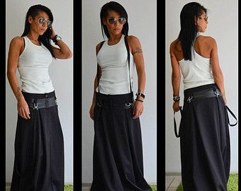 Long Skirt Long Skirt for Women Maxi Skirt by KRISTINARBUTAITE
