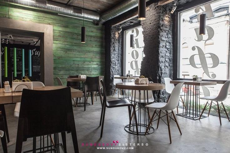 Fresh restaurant, Moscow, 2012: Interior Design, Bar Restaurant, Bar Design, Restaurant Design, Cafe, Sundukovy Sisters