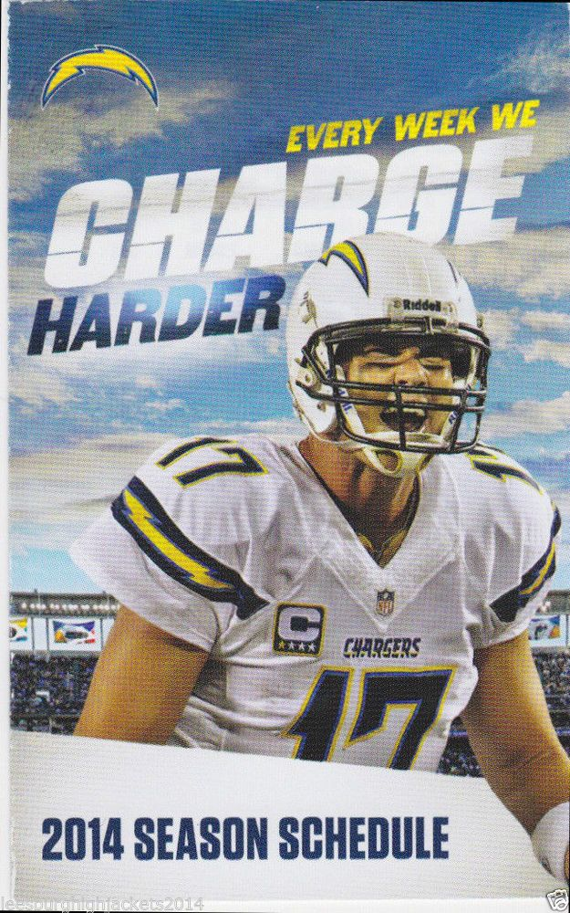 2014 San Diego Chargers Football Schedule Philip Rivers & Pepsi
