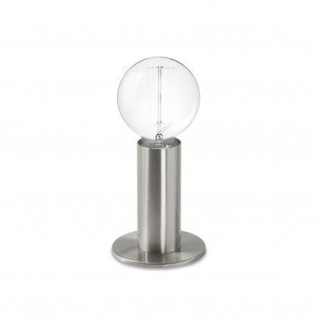 Perfect Lampe Sol silver lighting light design lamp La lampe sol trois variations de luminosit qui se d clenchent au simple touch de la lampe